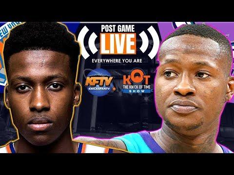 New York Knicks Vs Charlotte Hornets |  |Live Postagame