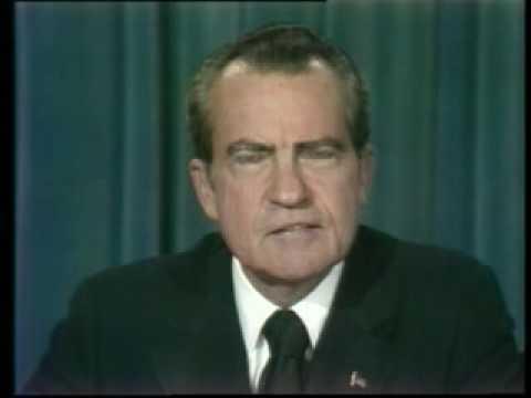 President Nixon's Resignation Address