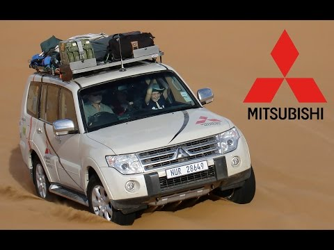 Mitsubishi Pajero Test in the Namib desert, wilderness adventure, Part-2