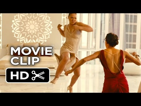 Furious 7 Movie   Girl Fight 2015  Vin Diesel, Michelle Rodriquez Movie HD