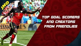 FIFA WORLD CUP 2018 Fantasy Football - Goal Scorers and Creators from Friendlies