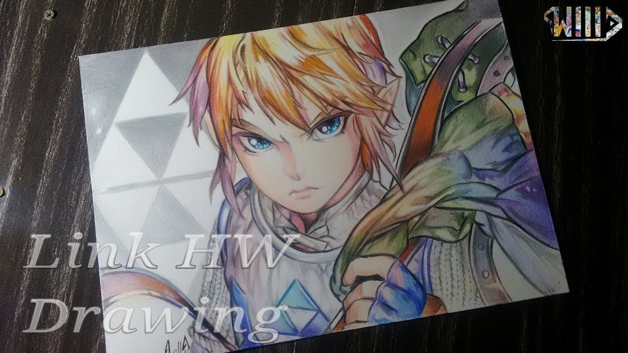 Drawing - Link (hyrule Warriors)