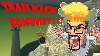 SNAILKICK БОМБИТ, Getting Over It with Bennett Foddy, Стрим 09.12.2017