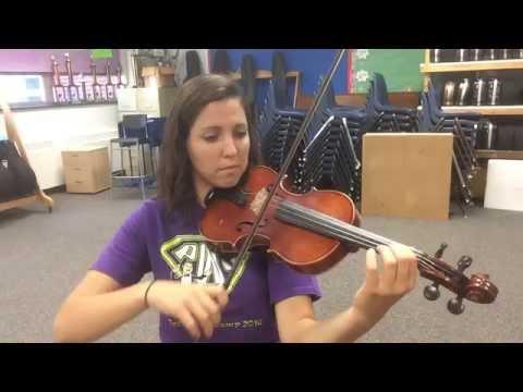 New World Symphony Theme Violin Track