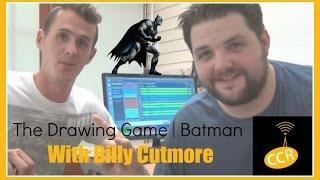 Drawing Batman! | Really Reel Show Drawing Game #1