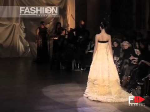 """Fashion Show """"Josep Font"""" Spring Summer 2008 Haute Couture Paris 3 of 3 by Fashion Channel"""