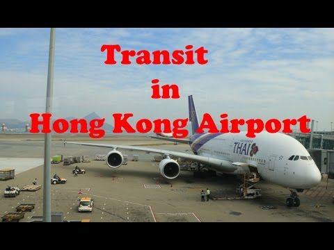 Tips for Transit in Hong Kong International Airport