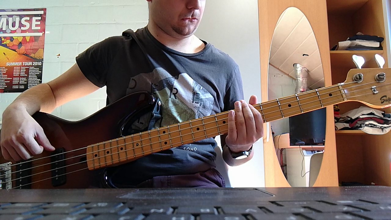 the Weezer - island in the sun bass cover with tabs