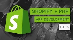 Part 5 - Shopify App Development - How To Save Access Token and Shopify Store URL in MySQL Database