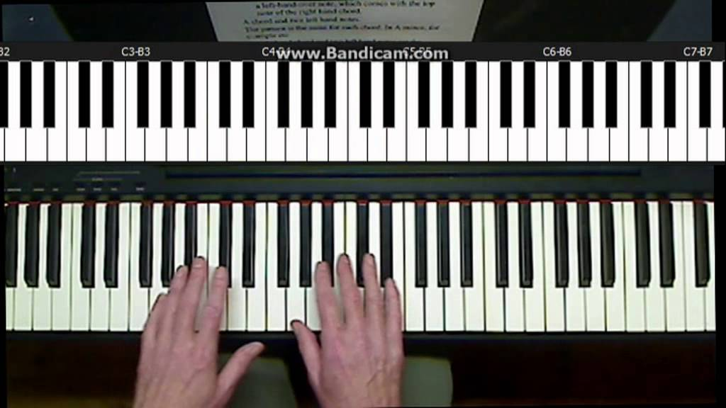 Chords For Carl Accompaniment Pattern Youtube