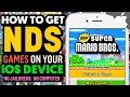 Play NINTENDO DS Games on your iOS Device! (NO JAILBREAK) (NO COMPUTER)