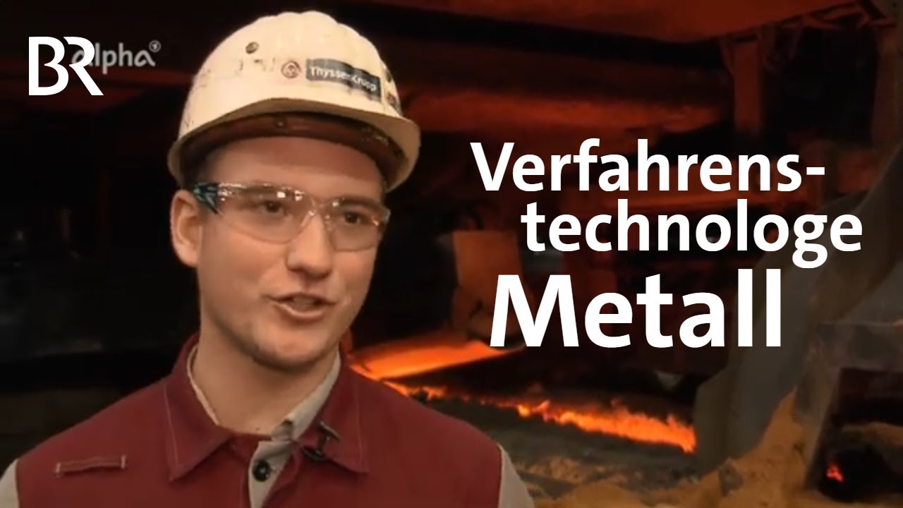 Youtube Video: Verfahrenstechnologe Metall - Fachrichtung Eisen- und Stahlmetallurgie | Ausbildung | Job | Beruf
