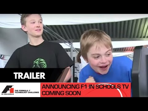 F1 in Schools TV  Announcement