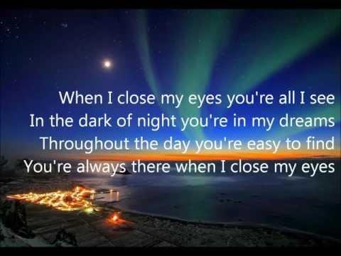 When I Close My Eyes By Kenny Chesney