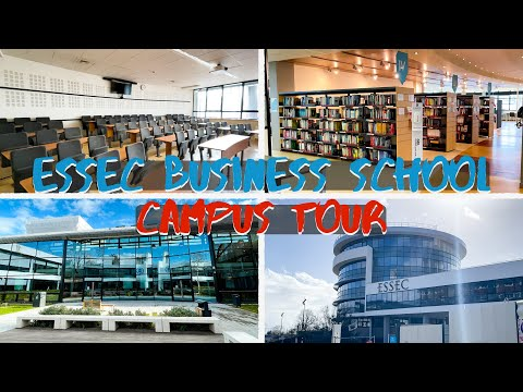 ESSEC Business School Campus Tour | Study in France