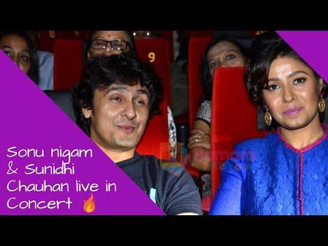 Sonu nigam & Sunidhi Chauhan live in Concert | Mujhse Shaadi Karogi, Aaja Soniye & Maria Maria |