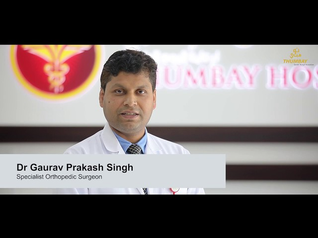 Specialist Orthopedic Surgeon Dr. Gaurav talks on Orthopedic Department