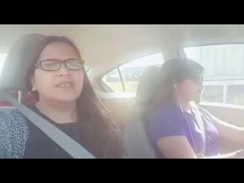 Carpool Karaoke time while on traffic