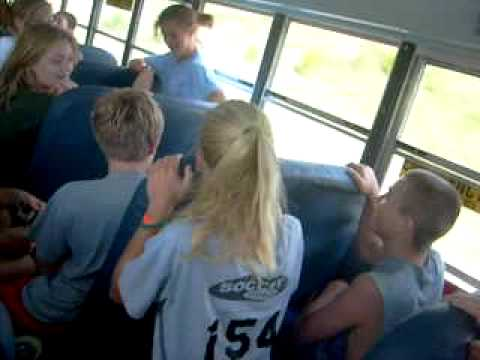 bus ride hom from 4h camp !