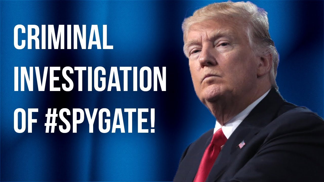 Judicial Watch FINALLY--The DOJ is Investigating #SpyGate Targeting Scandal against President Trump!
