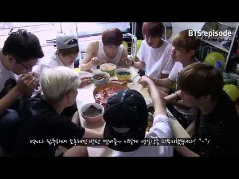 [Episode] 1st BTS Birthday Party (Jin chef of BTS)