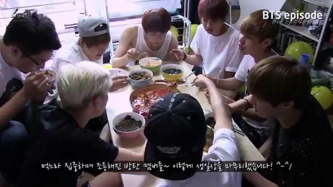 Episode 1St Bts Birthday Party Jin Chef Of Bts