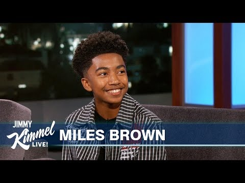 Anthony Anderson Owes Miles Brown a Car