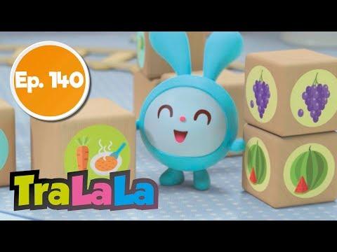 Cantec nou: BabyRiki - Trenul cu mancare (Ep. 140) Desene animate   TraLaLa