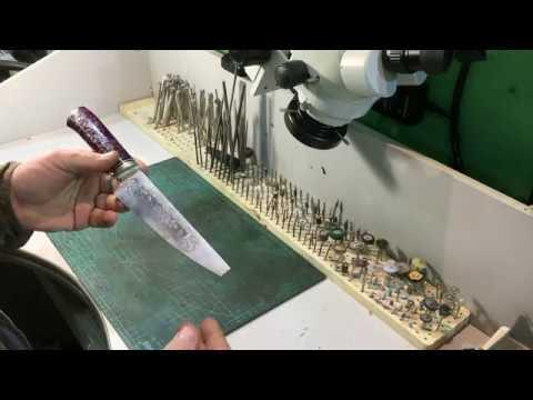 Схема ножа кухонного
