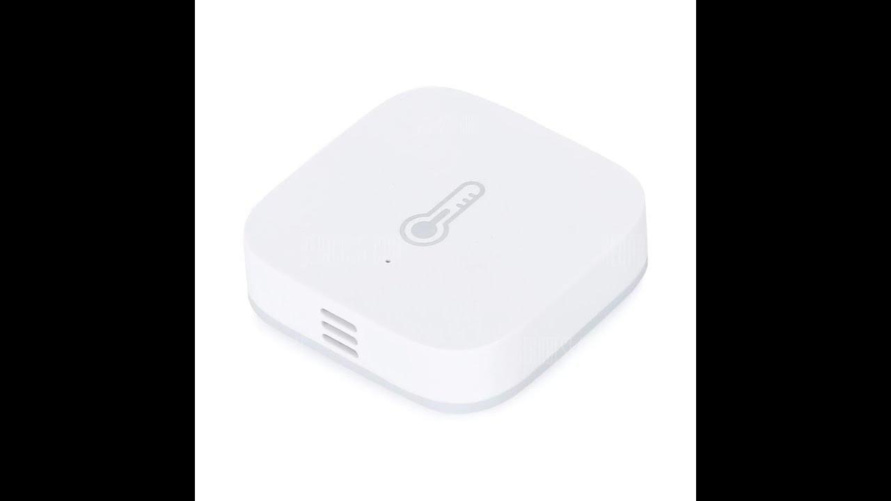 Aqara temperature humidity sensor with Xiaomi Gateway