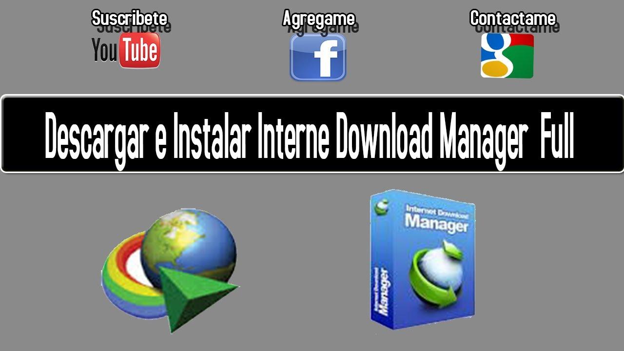 download internet download manager full crack gratis