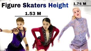 figure skaters who are the same height スケーターの高さ