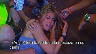 Romina Malaspina le pega a Melina y se retira del reality antes de su expulsion - parte 2