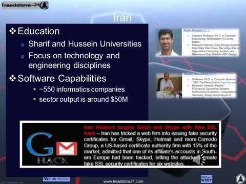Iranian Cyber Capabilities   Treadstone 71