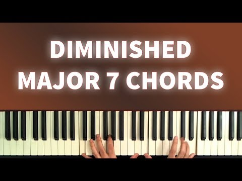 "Learn to Use Diminished Major 7th Chords: The ""Secret"" Jazz Harmony Flavor!"