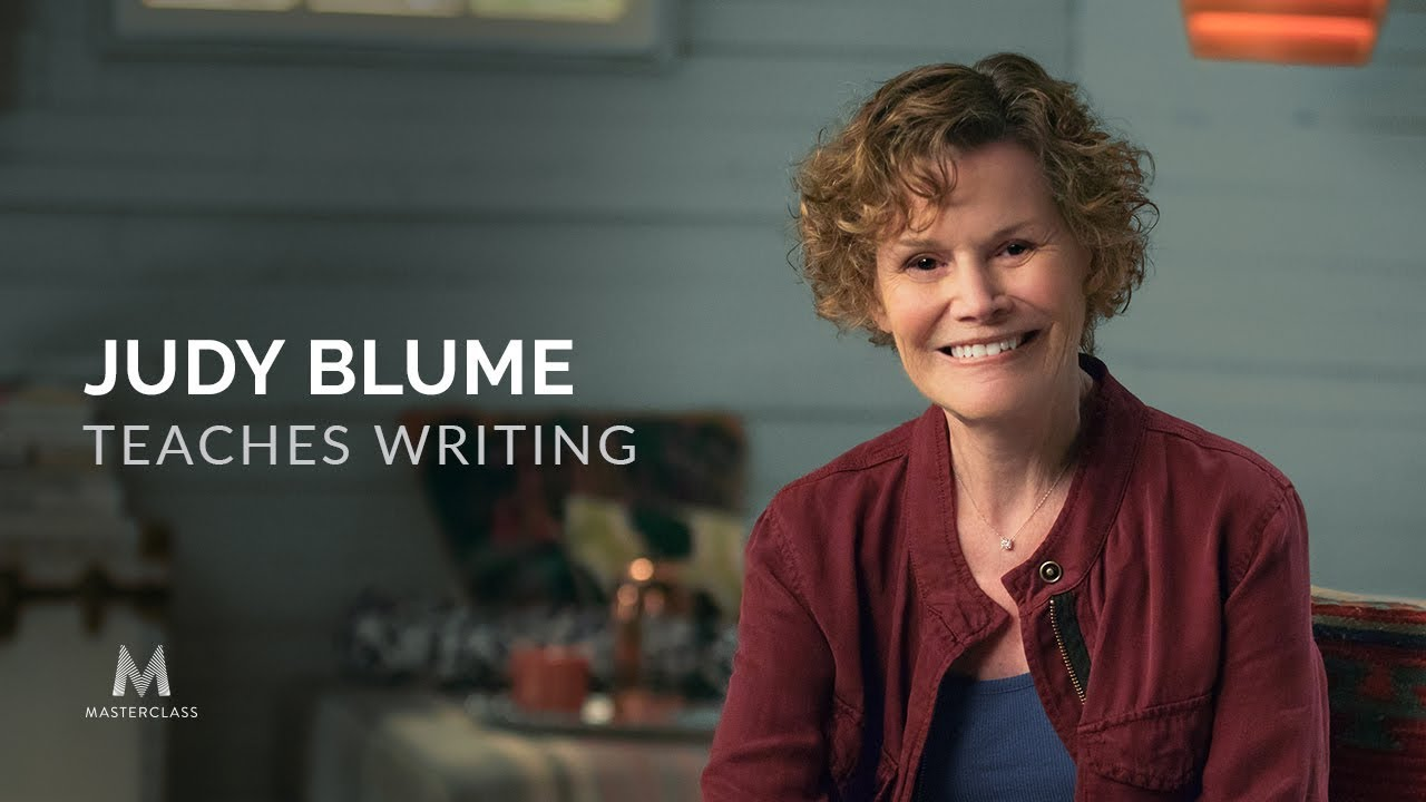 judy blume teaches writing official trailer masterclass youtube