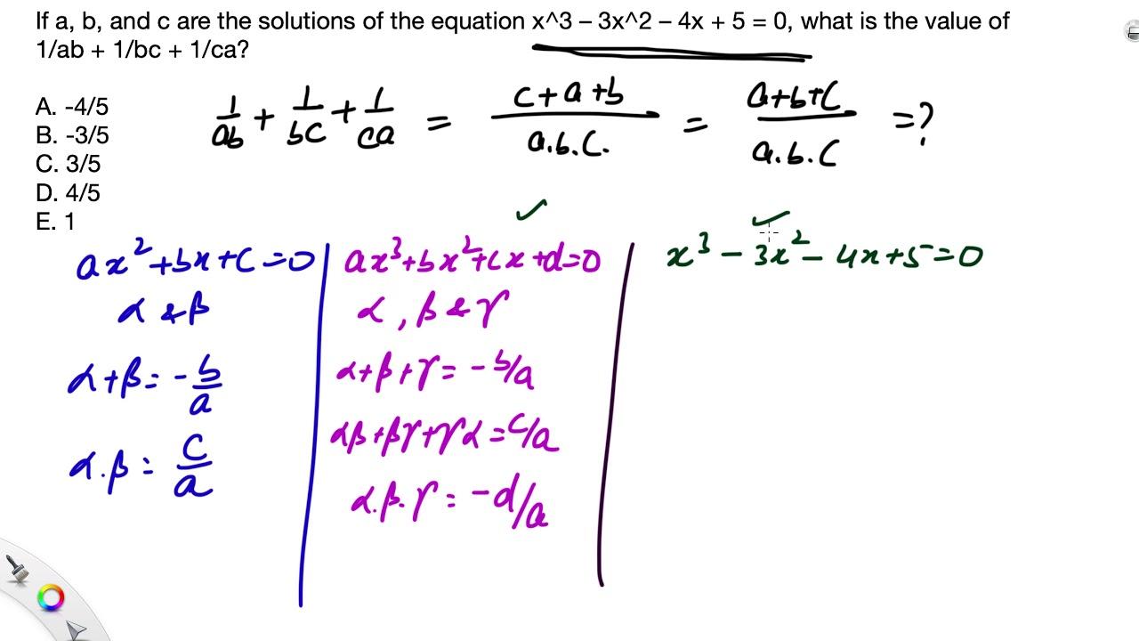 Algebra Examples | Quadratic Equations | Finding the Quadratic...