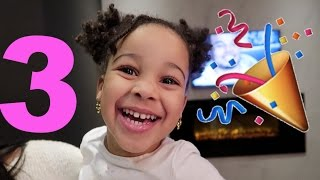 PRINCESS CALI'S 3RD BIRTHDAY!!!