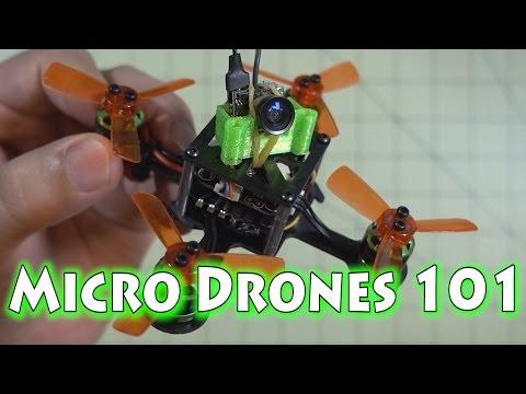 Micro Drones 101 🔥 Build Example #2 💡