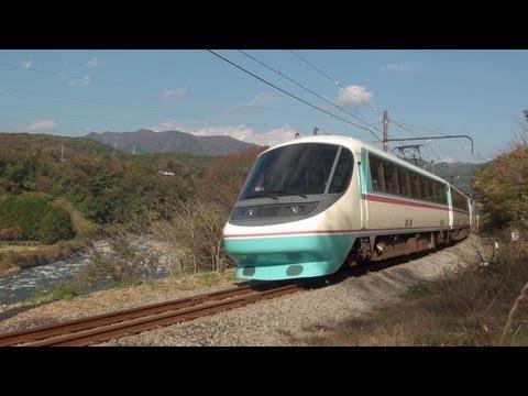 小田急ロマンスカー20000形 RSE あさぎり はこね 走行シーン集(35カット)
