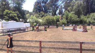 Emily Dodge and Portland Horse and Hound Medal 3'