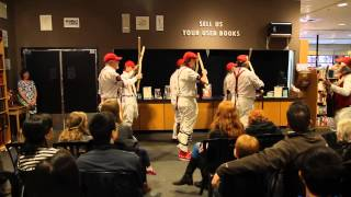 Time Out of Time launch with Morris Dancers!