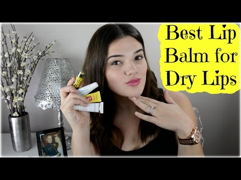 Best Lip Balm for Dry Lips