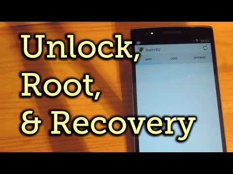How to Unlock the Bootloader, Install a Custom Recovery, & Root the