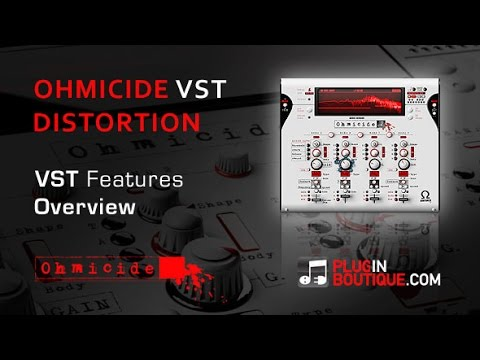 Ohmicide Distortion VST Plugin - Features Overview - With Dom Kane