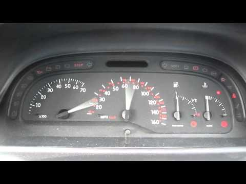Renault Laguna 2000 Mark 1 Dashboard