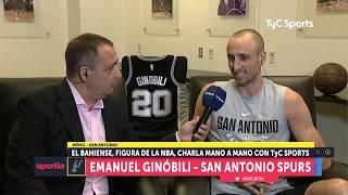 Emanuel Ginóbili en TyC Sports (entrevista completa)