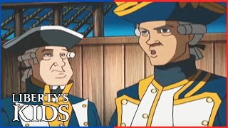Liberty's Kids HD 113 - The Turtle with David Bushnell and Richard Howe | History Videos For Kids
