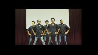 Sahrdaya college Hostel day 2015 Boys Group Dance