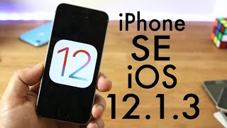 iOS 12.1.3 OFFICIAL On iPHONE SE! (Review)